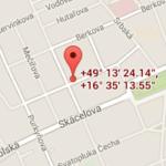 Adeon Brno Mapa