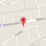 Adeon Pardubice mapa