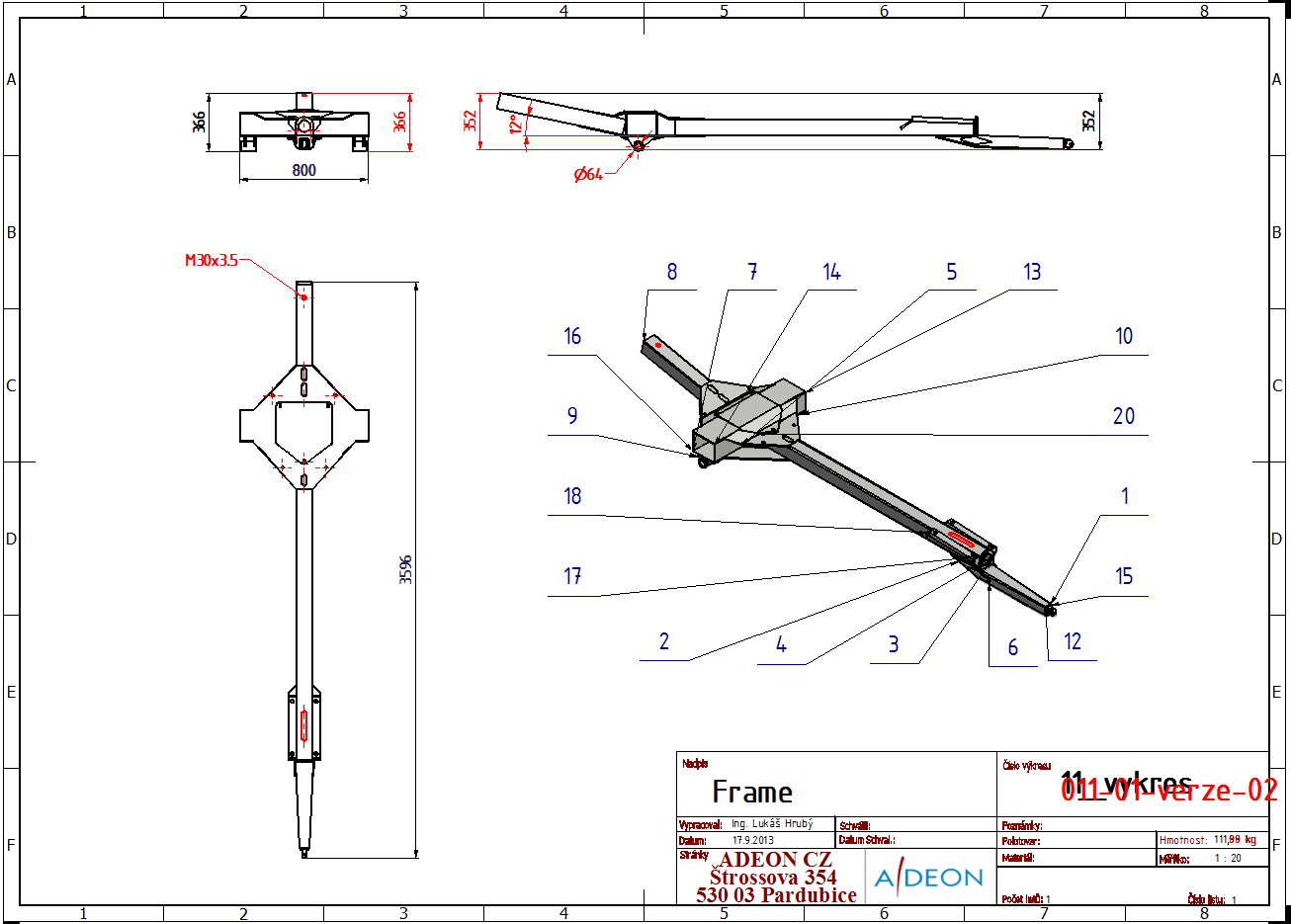 Autodesk Vault - Porovnání výkresů