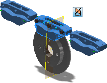 Inventor 2016 - Sestava - Pole komponent