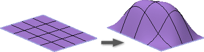 Inventor 2016 - Volné tvary - volná plocha