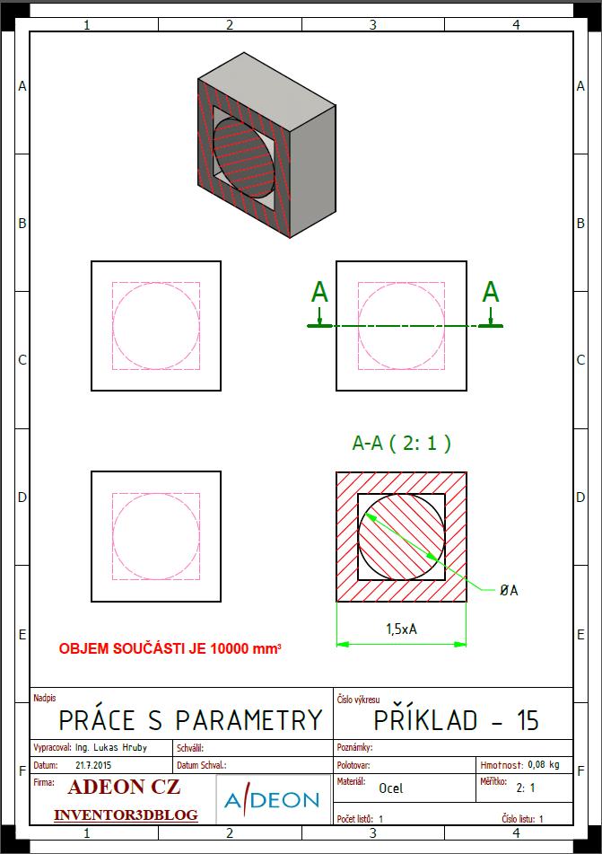 Zadání příkladu 15