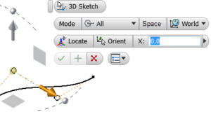 3D náčrt - manipulátor