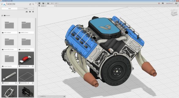 Fusion360-V8Engine