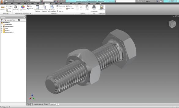 Inventor 3D print