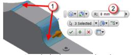 Inventor příklad - krok 8