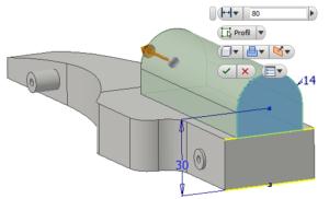 Modelování Inventor