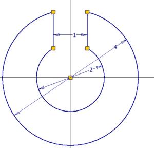 Náčrt pojistného kroužku