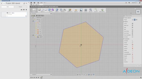 Fusion360 - Polygon