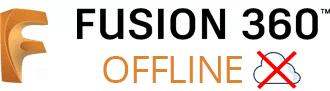 Fusion 360 offline logo