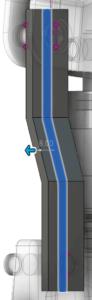 Fusion 360 Vysunutí