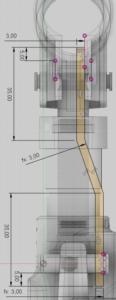 Fusion 360 vytvoření náčrtu