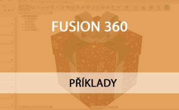 Fusion 360 modelování dárku