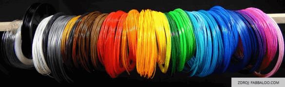 3D tisk struny