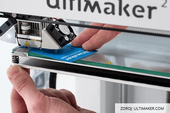 3D tisk Ultimaker podlozka