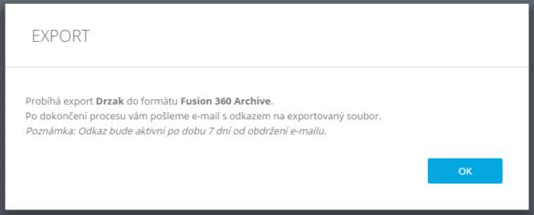 Fusion 360 TEAM export dat