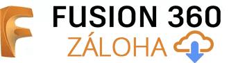 Fusion 360 logo záloha