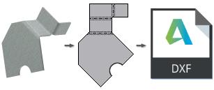 iLogic DXF uložení