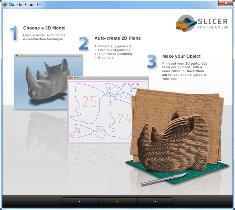 Slicer for Fusion 360 -part2