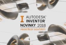 Novinky Inventor 2018 - součást