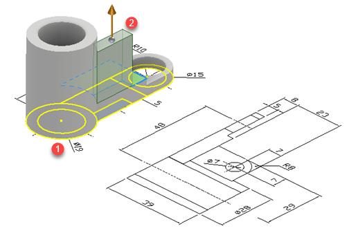 Vzdálenost od plochy ve 3D