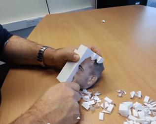 3D tisk papíru