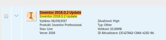 Inventor 2018.0.2 Update