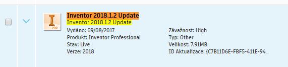 Inventor 2018.1.2 Update