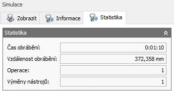 HSM statistika obrábění