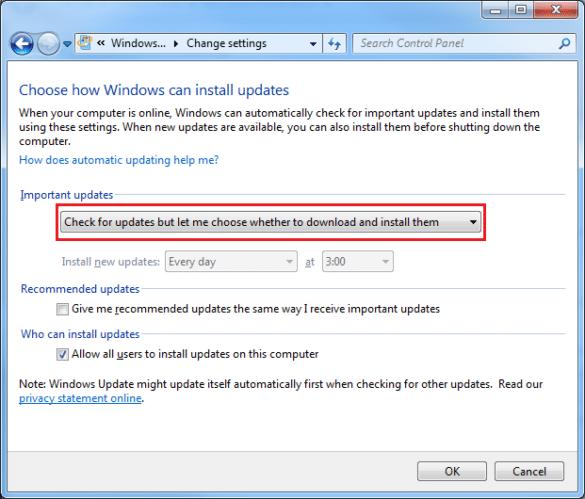 Micowoft Windows Update