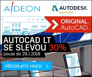 Sleva 30% na AutoCAD LT