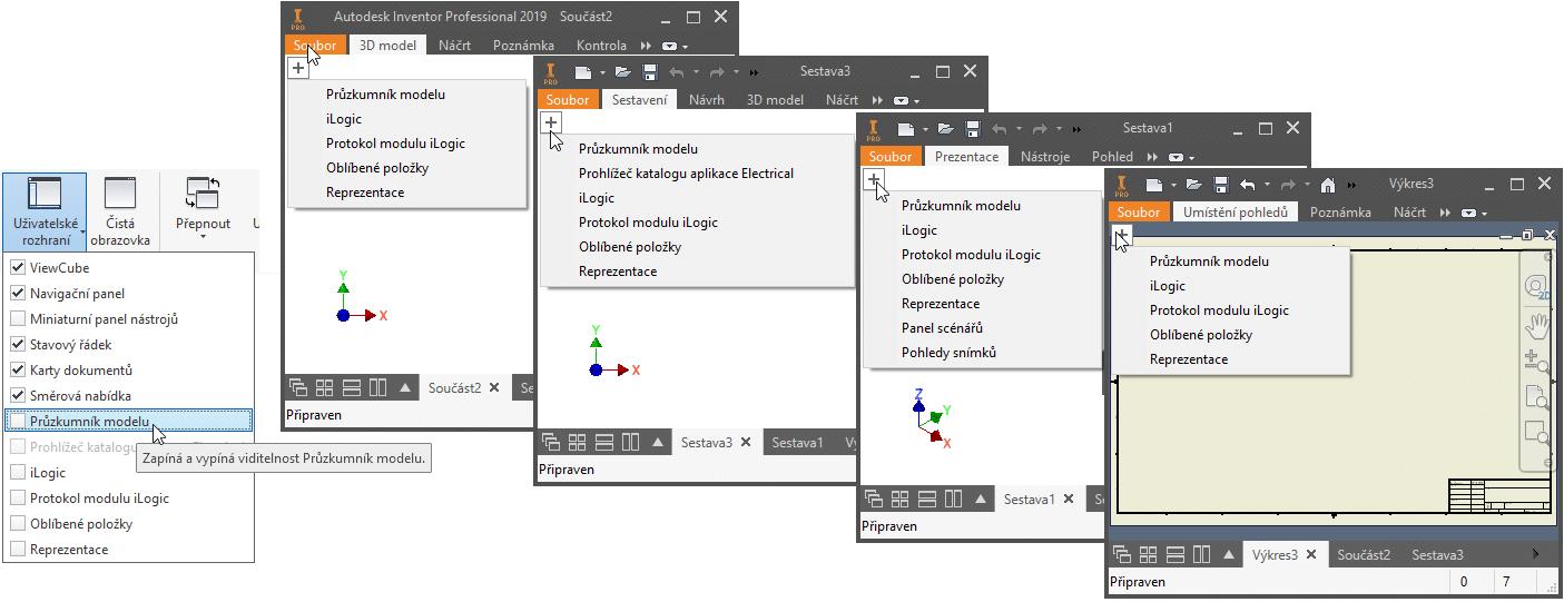 Vylepšení přístupu k prohlížeči modelu