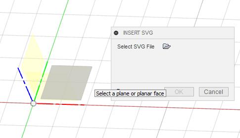 Fusion 360 vlozeni SVG