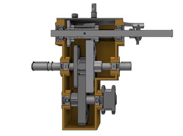 Inventor detailní zobrazení sestavy