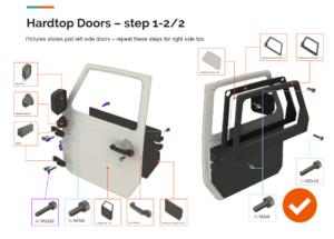 Fusion 360 animace slozeni dveri