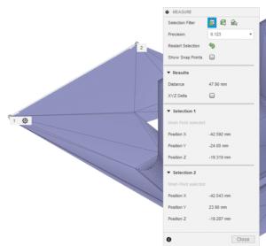 Fusion 360 measure STL