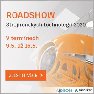 Roadshow strojírenských technologií řady 2020