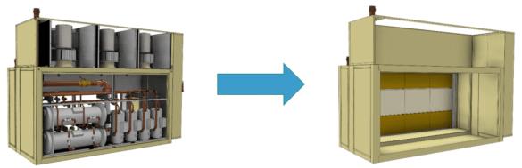 Inventor BIM zjednoduseni modelu