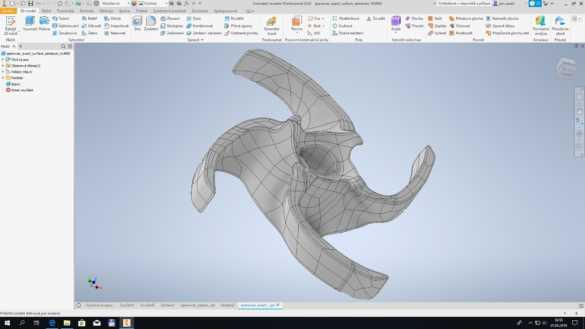 Prace s 3D skenem v Inventoru