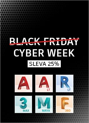 Black Friday: Sleva 25% na Autodesk produkty