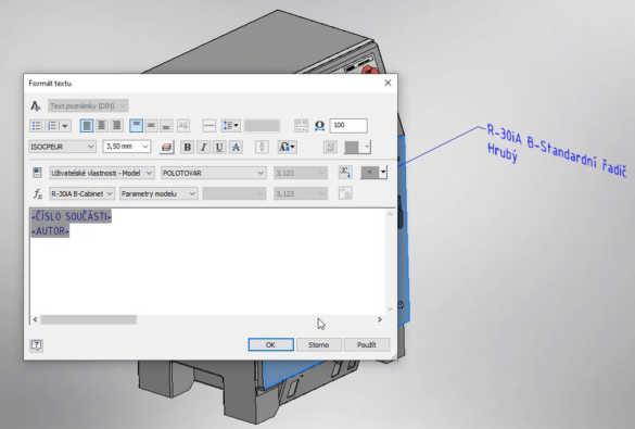 3D poznámky - iVlastnosti