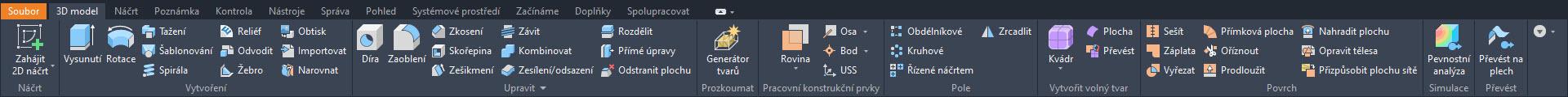 Autodesk Inventor 2021 v českém jazyce