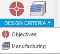 Fusion 360 kriteria simulace