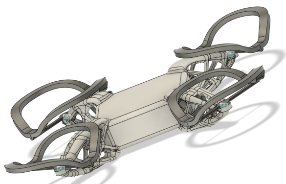 Fusion 360 vysledek priklad generative simulace