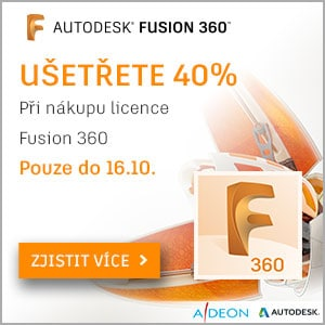 Sleva 40% na Fusion licence